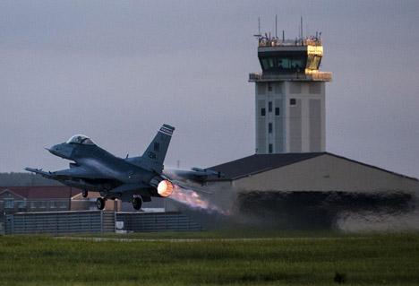Badger Air Take Off