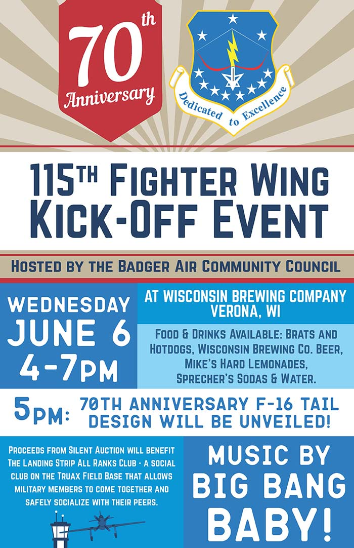 115th Fighter Wing Kick-Off Event